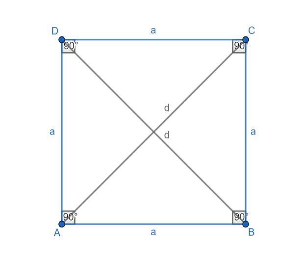 A négyzet területe és kerülete